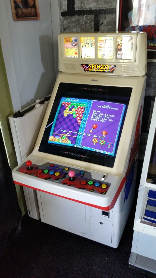 neo 25 candy cab game select not working