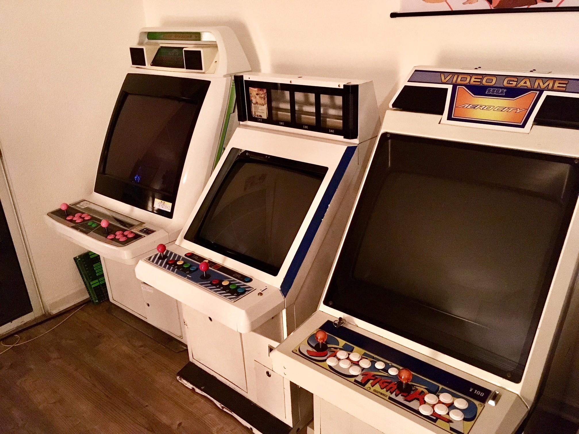 FS Game: Neo-Geo MVS-U4 candy cabinet + MVS games (bay area ...