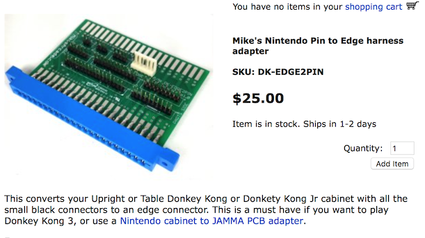 wtb donkey kong 3 wiring harness klov vaps coin op videogamewell worth the money got one in my dk and dk jr