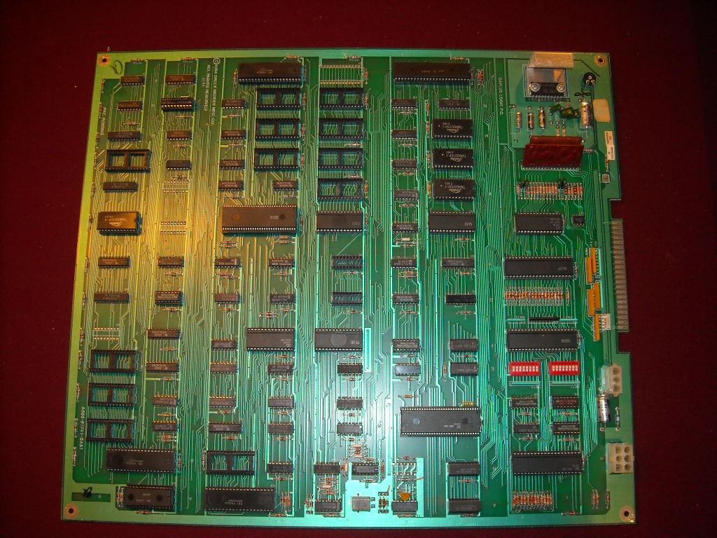 MMAO - Parts: non-working (missing eproms) gaplus pcb - KLOV