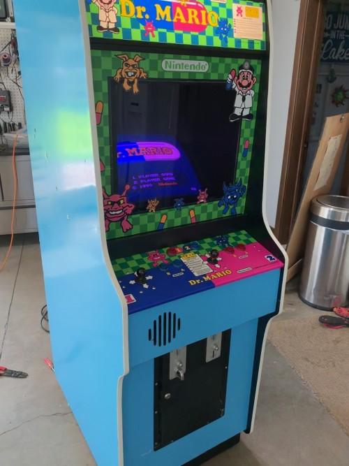 Dedicated Dr  Mario!! - KLOV/VAPS Coin-op Videogame, Pinball