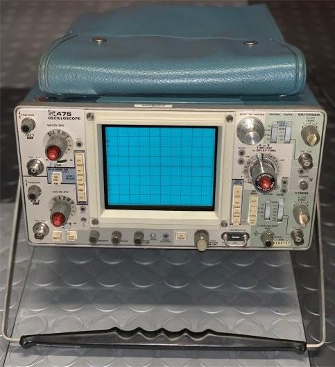 Antique Radio Forums View Topic Tektronix 475 Oscilloscope Help With Repair